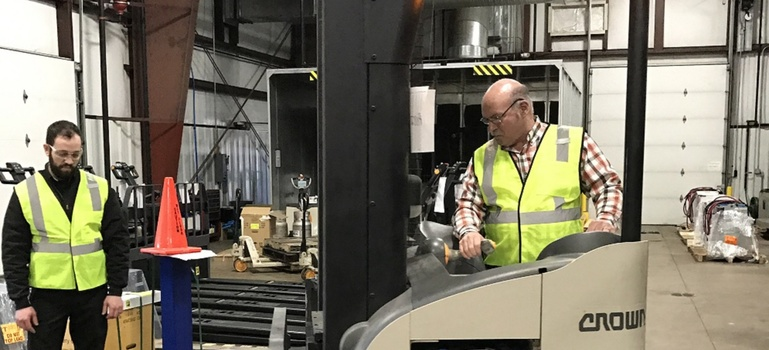 Respect the Forklift! The Importance of Certified Training Programs