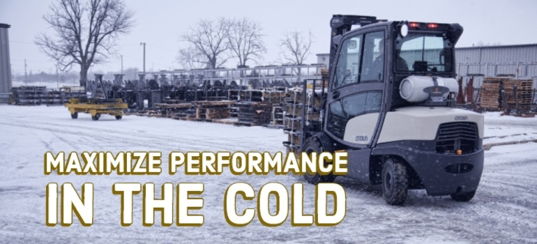 Prepare Your Forklifts For Cold Weather