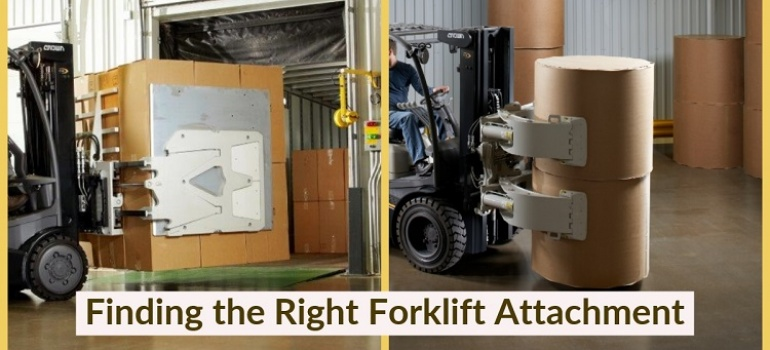 Tips for Finding the Right Forklift Attachment