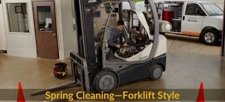 Spring Maintenance Tips for your Forklift