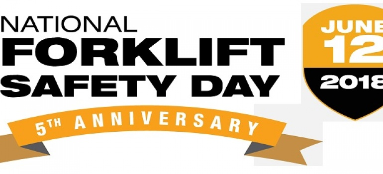 We Support National Forklift Safety Day