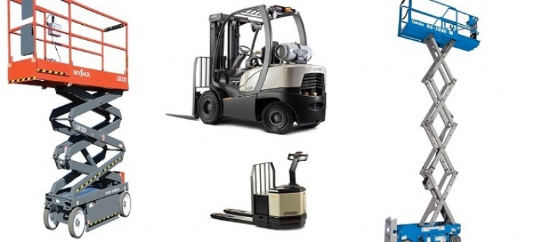Material-Handling Equipment for the Peak Season