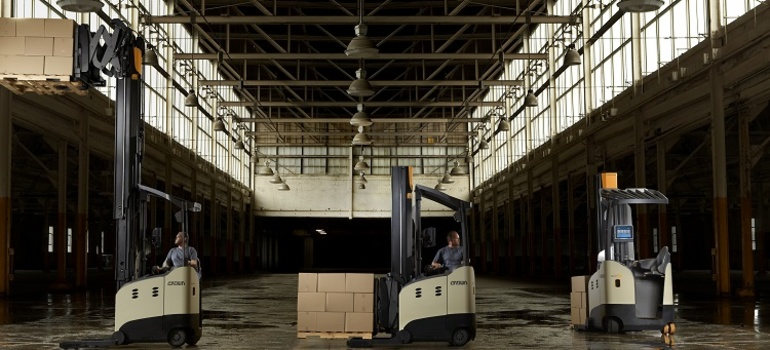 Today's Forklifts—Combining Technology and Comfort