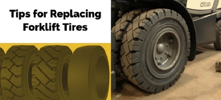 Are Your Forklift Tires up to the Task? Tips for Replacement