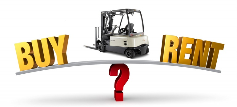 It's Decision Time—Should We Buy or Rent Our Next Forklift?
