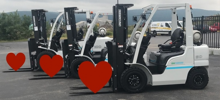 Show Your Forklift Some Love with Regular Maintenance.