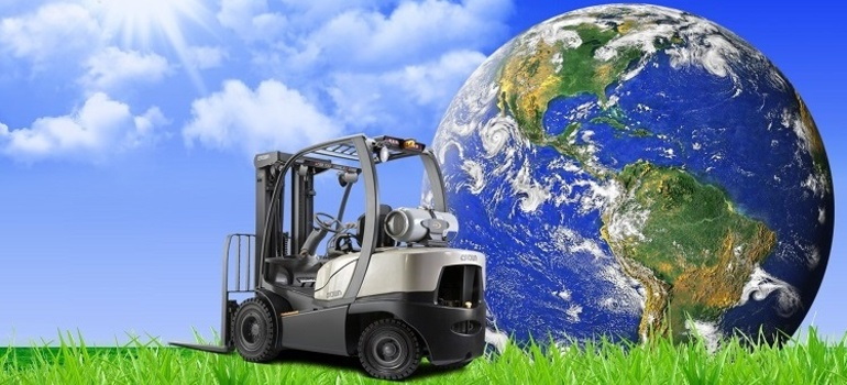 Earth Day—Learn How Forklifts Matter.