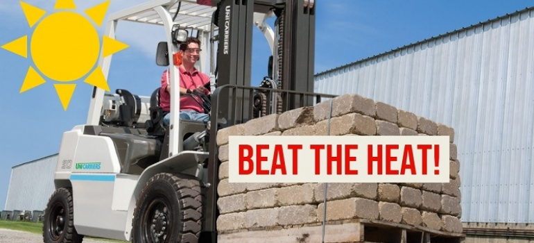 BEATING THE HEAT—PREPARE YOUR FORKLIFTS FOR SUMMER